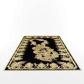 Military brocade rug by Alexander Mcqueen