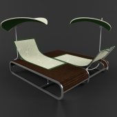 Лежак для пляжа