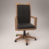 Деревянное офисное кресло Swivel H319-01A