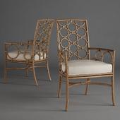 McGuire - Laura Kirar Dining Arm Chair M-281