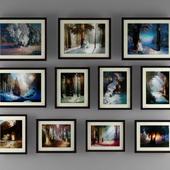 Картины в рамах