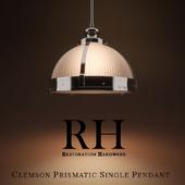 Clemson Prismatic Single Pendant