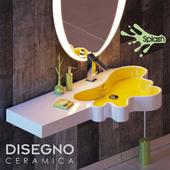 Disegno ceramica - Splash 152-DX