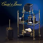 Cristal Et Bronze - Prestige - Cisele Obsidienne