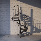 Stairs. Лестница.loft