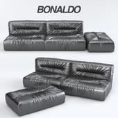 Диван Bonaldo Nuvola + Пуф
