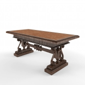 Классический деревянный стол
