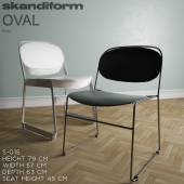 Oval S-015 by Skandiform
