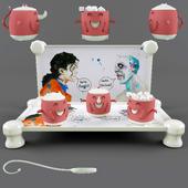 Декоративный набор посуды