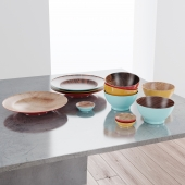 Wood dishes ACRE