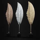 Paradise Leaf Sculpture
