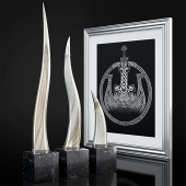 Polished Horn Sculpture