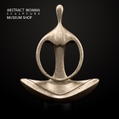 Abstract Woman Sculpture