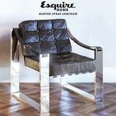 MARTINI STRAP ARMCHAIR, Esquire Home