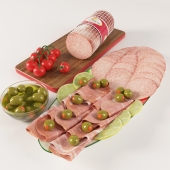 Assorted Sausages Set ( prosciutto and salami)