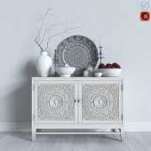 "Decorative set ""Moroccan style"""