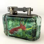 Dunhill Aquarium Table Lighter