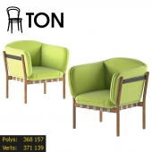 Dowel by Ton fabric