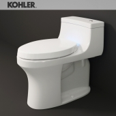 "KOHLER ""San Souci"" toilet"