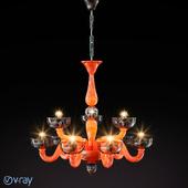 Люстры Vetri lamp Color\Cristallo 925/6+3 и 925/8