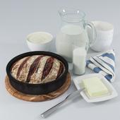 Still Life: Bread and Milk. (Хлеб и Молоко)