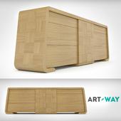 Art Way - Комод Chess Oak Natur