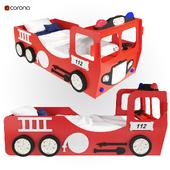 Детская кровать Fire Truck