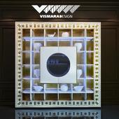 Бар VISMARA The frame container bar-Glass Eyes