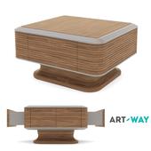 """Art Way - Журнальный стол """"Estet Walnut"""""""