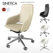 SINETICA CAPTAIN LINE DIREZIONALE кресла
