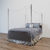 MAGNOLIA HOME MANOR CANOPY BED