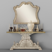 Hooker Console Table, Mirror