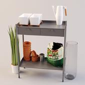 IKEA HINDE Set01 ХИНДЭ стол