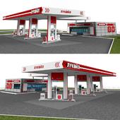 бензоколонка  Petrol station