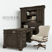 Набор  мебели   Hooker Home Office Vintage West Executive