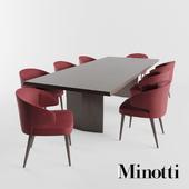 Minotti | Aston Dining | Morgan