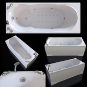 Акриловая гидромассажная ванна  Doctor Jet Prima C