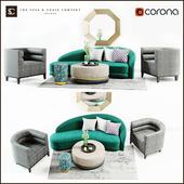 The Sofa & Chairs Company: Mouna set