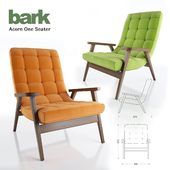 Bark Acorn One Seater