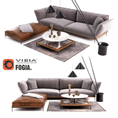 Fogia Jord Sofa Set | Vibia North Floor Lamp