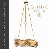 shine by s.h.o. josette chandelier