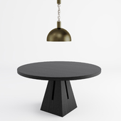 APPARATUS | LINK PORCELAIN | PORTAL DINING TABLE
