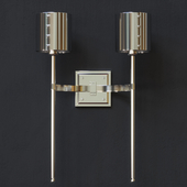 HOLLY HUNT - AUREOLE DOUBLE ARM SCONCE