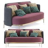 Minotti Tape Sofa (two seat)
