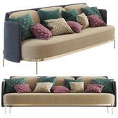 Minotti Tape Sofa (three seats)
