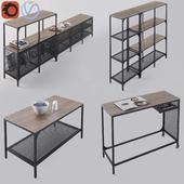 Вся серия мебели Икеа Фьелльбо