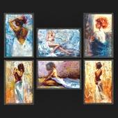 Картины Генри Асенсио