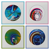 Abstract paintings set_13