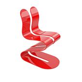 Lamberti Fluid Ribbon chair