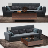 Senza Fine sofa & Essence table